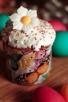 Torta pasquale con uova