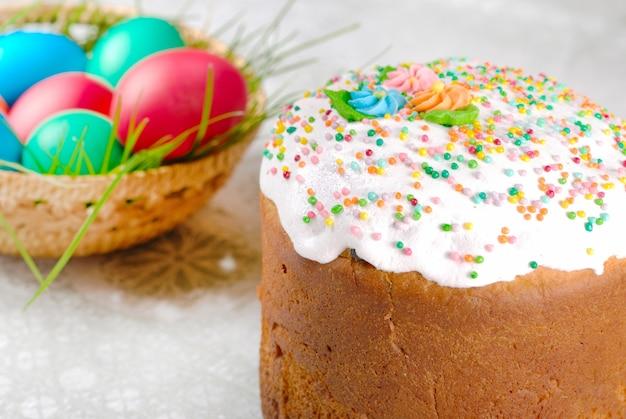 Torta pasquale e uova