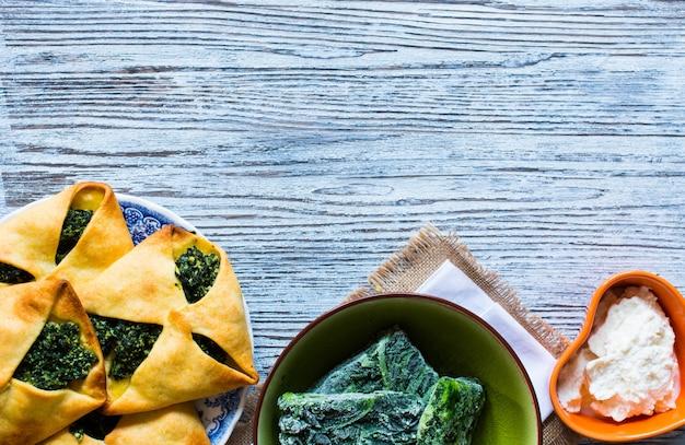 Tortino di spinaci con ricotta
