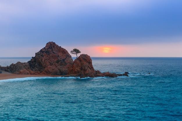 Tossa de mar sulla costa brava, catalunya, spagna
