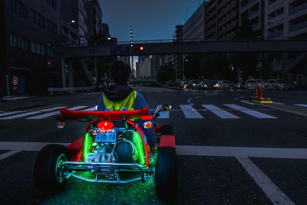 Tour di marikart in giro per tokyo