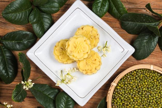 Tradizionale torta di osmanthus gourmet