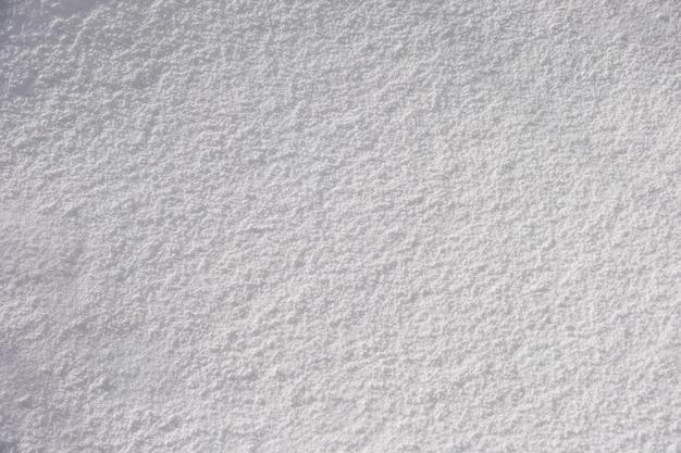 Trama coperta di neve soffice