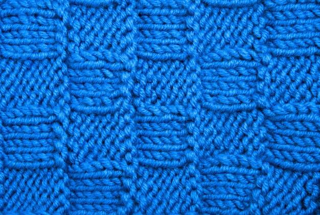 Trama del tessuto a maglia