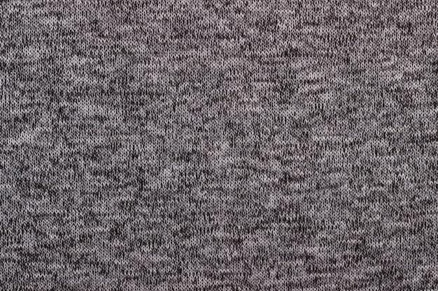 Trama del tessuto di lana a maglia