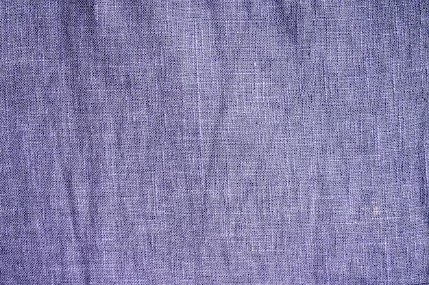Trama del tessuto di lana blu.