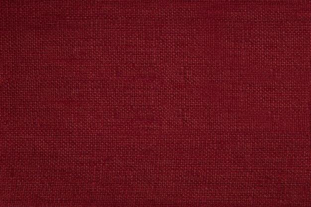 Trama del tessuto rosso