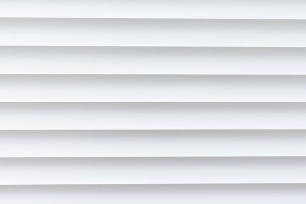 Trama di alluminio bianco louvre sfondo.
