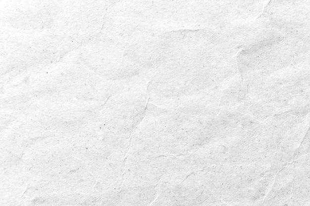 Trama di carta sfondo bianco carta stropicciata.