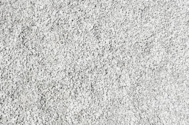 Trama di ghiaia di pietra bianca