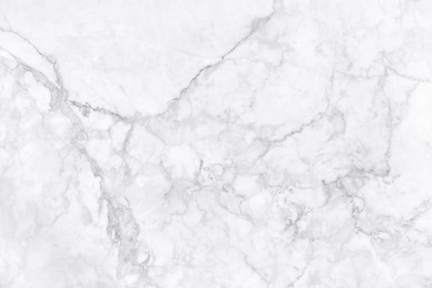 Trama di marmo grigio bianco ad alta risoluzione, vista da banco di piastrelle in pietra naturale