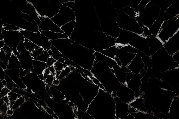 Trama di marmo nero con motivo naturale