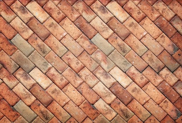 Trama di muro di mattoni marrone