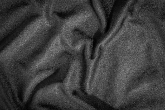 Trama di panno nero e lo sfondo