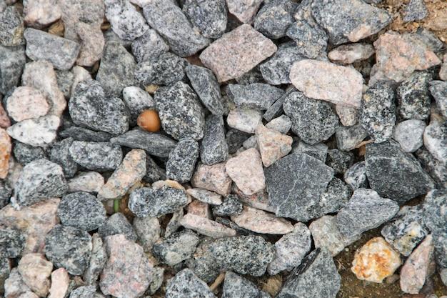 Trama di pietre per lo sfondo della tela, ampiamente usata nelle opere di rio de janeiro.