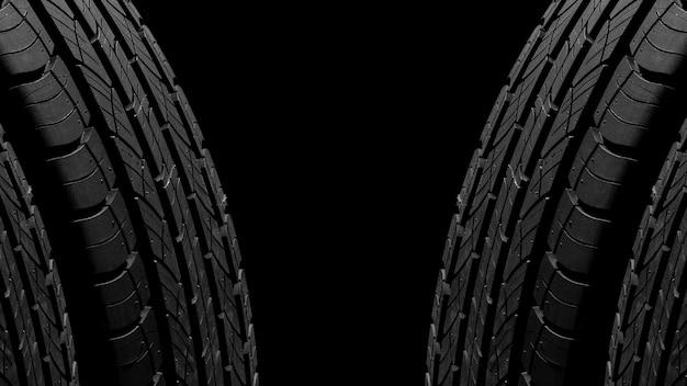 Trama di pneumatici - sfondo