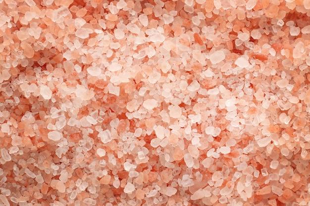 Trama di sale rosa himalayano ad alta risoluzione.