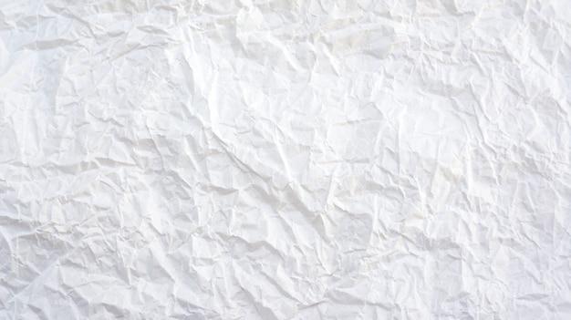 Trama di sfondo bianco carta piegata.