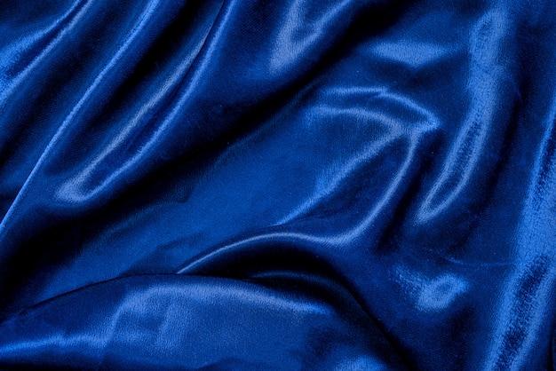 Trama di sfondo blu panno tessuto