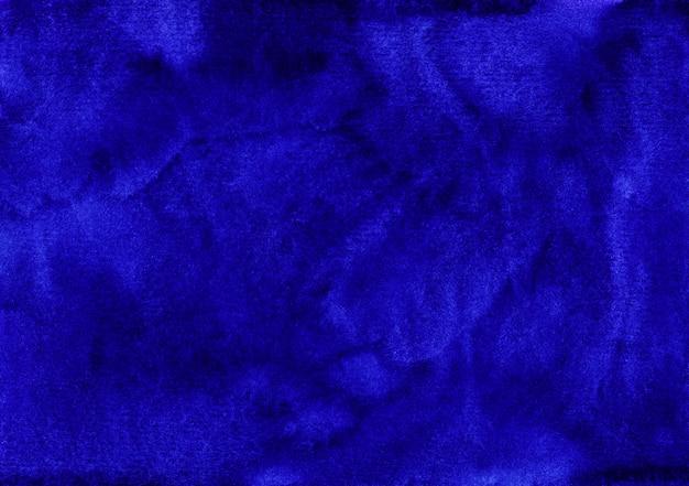 Trama di sfondo blu scuro dell'acquerello