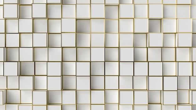 Trama di sfondo bordo bianco e oro.