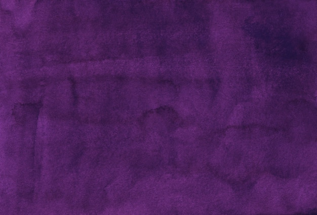 Trama di sfondo di colore viola intenso dell'acquerello