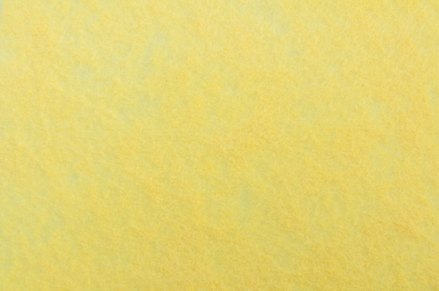 Trama di sfondo di velluto giallo o flanella