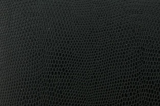 Trama di sfondo in pelle di serpente nero