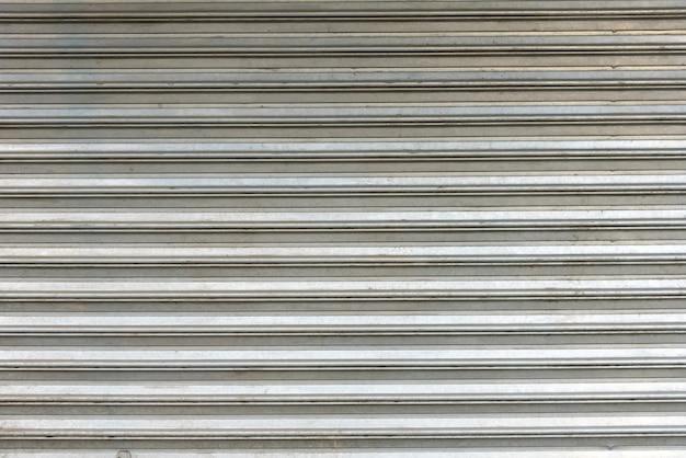 Trama di sfondo porta di metallo
