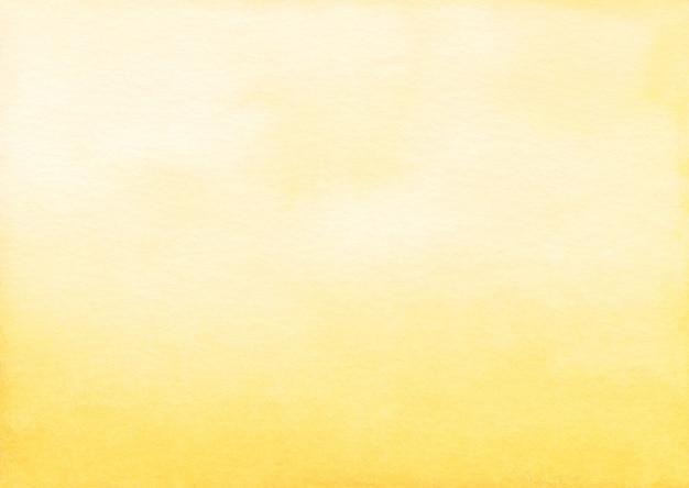 Trama di sfondo sfumato giallo chiaro dell'acquerello
