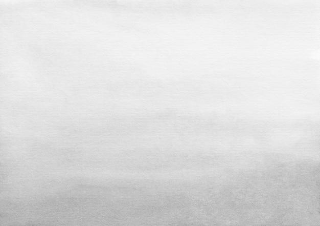 Trama di sfondo sfumato grigio chiaro e bianco dell'acquerello