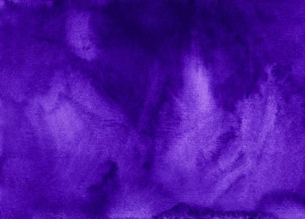 Trama di sfondo viola reale dell'acquerello