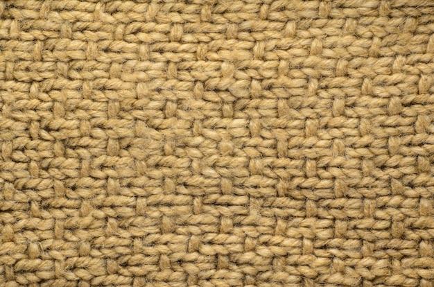 Trama di stoffa a maglia