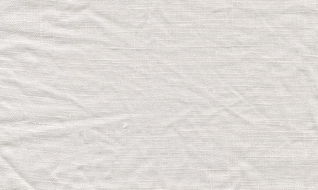 Trama di tela bianca. sfondo di lino bianco naturale