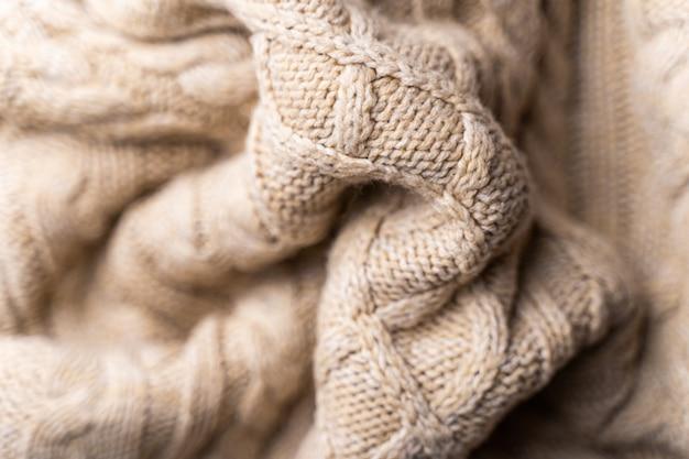Trama di tessuto a maglia