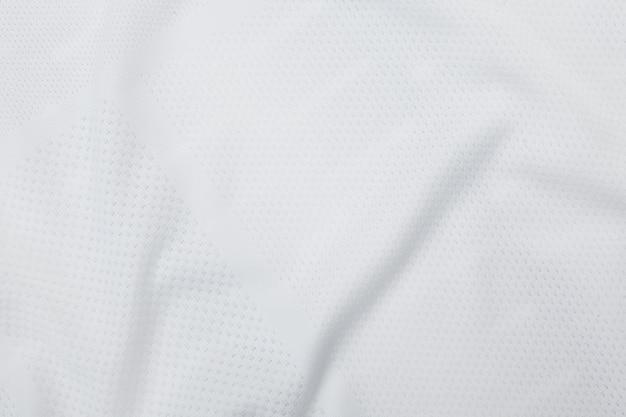 Trama di tessuto bianco, modello di stoffa.
