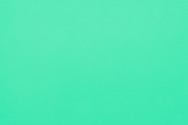 Trama di tessuto di menta, sfondo verde.