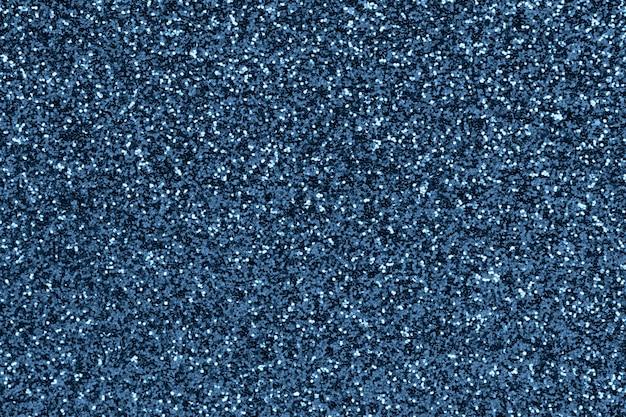 Trama glitter blu sfocato sfocato