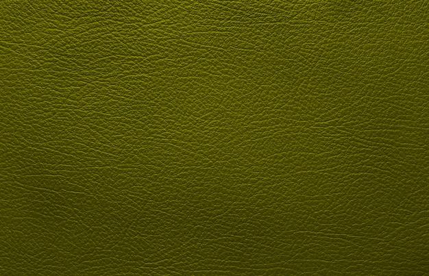 Trama in pelle verde