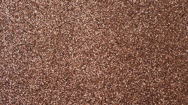 Trama marrone glitter per uno sfondo.