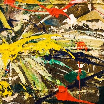 Trama, sfondo dipinto con vernici