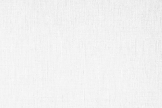 Trame e superficie astratte della carta da parati della tela di colore bianco