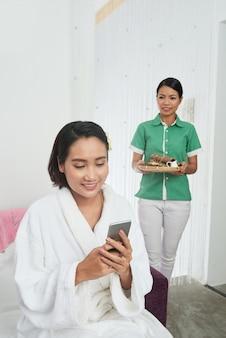 Trascorrere una giornata nel salone spa