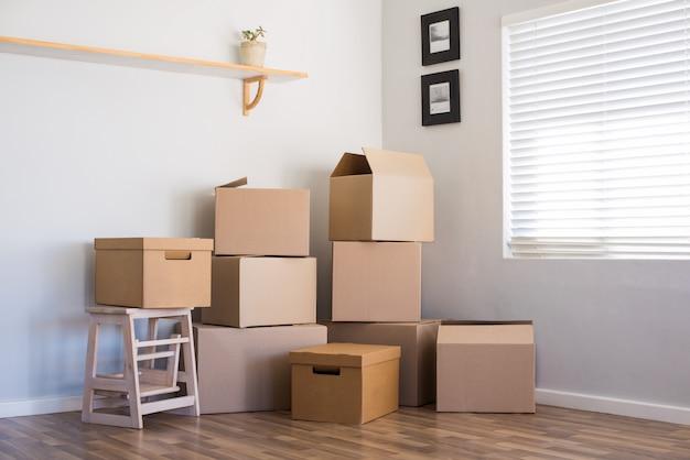 Trasloco e scatole