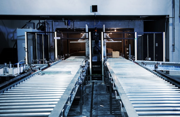 Trasporto di rulli industriali buona industria dei prodotti