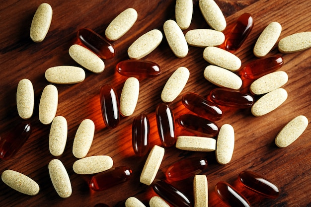 Trattamento dietetico biologico, capsule vitaminiche
