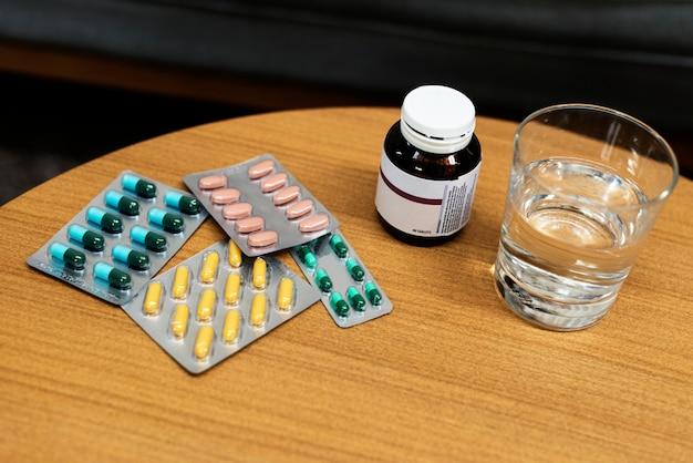 Trattamento farmaceutico di farmaci medicinali