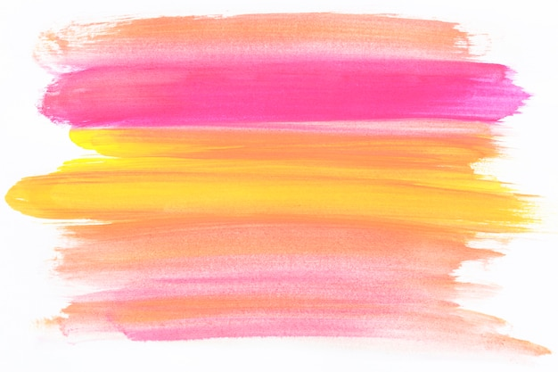 Tratto di pennello colori misti