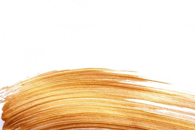 Tratto di pennello dorato