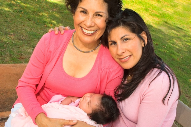 Tre generazioni di donne